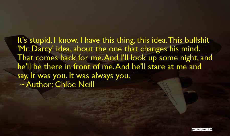 He Always Comes Back Quotes By Chloe Neill