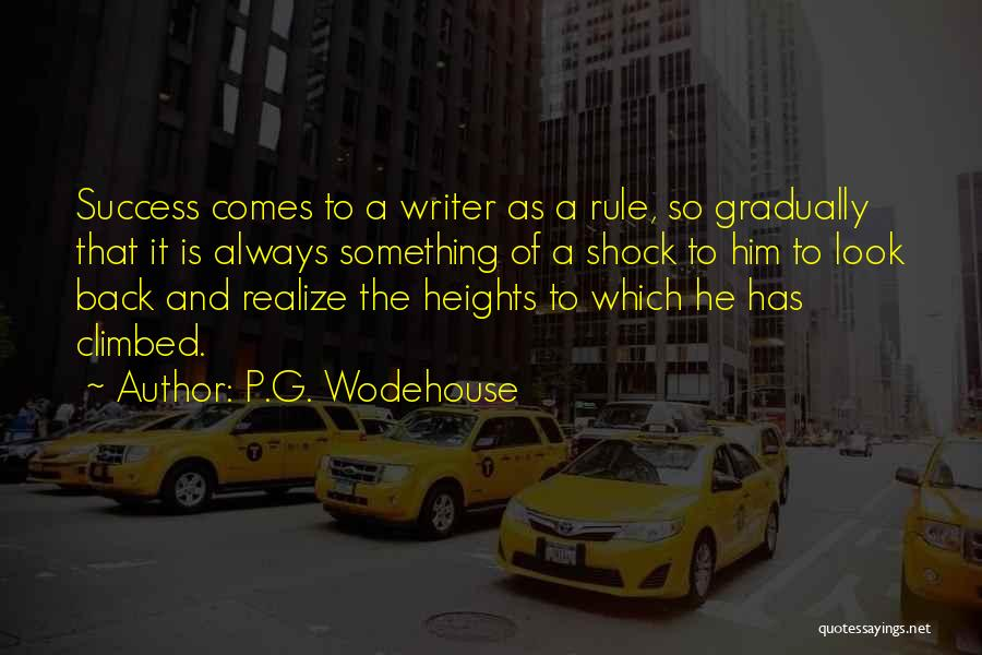 He Always Comes Back Quotes By P.G. Wodehouse
