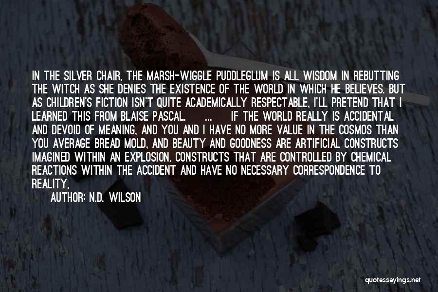 He Believes In Me Quotes By N.D. Wilson