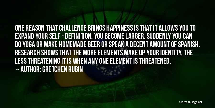 He Brings Me Happiness Quotes By Gretchen Rubin