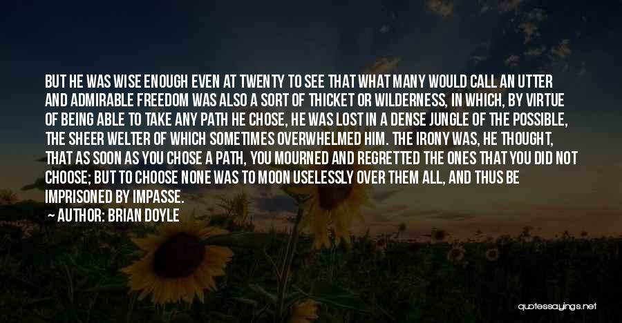 He Chose You Quotes By Brian Doyle