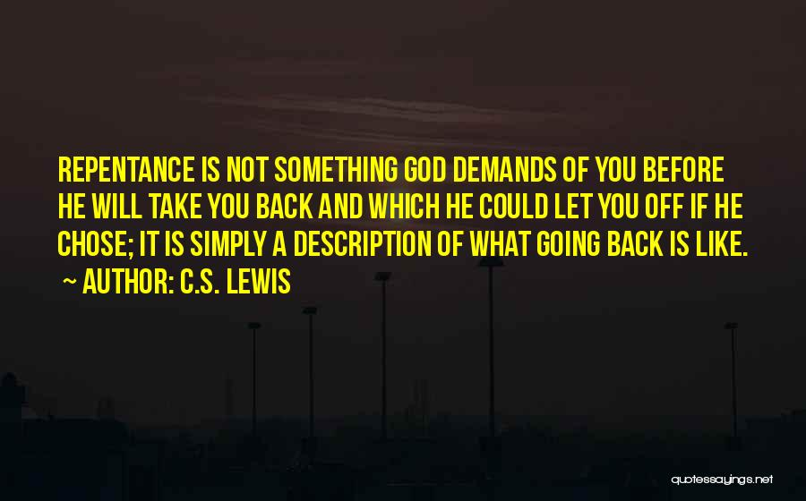 He Chose You Quotes By C.S. Lewis