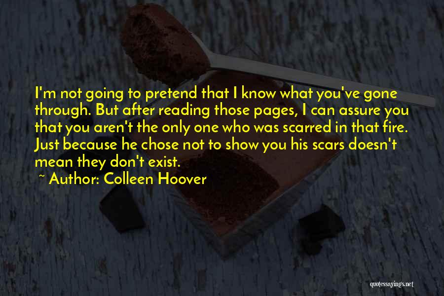 He Chose You Quotes By Colleen Hoover