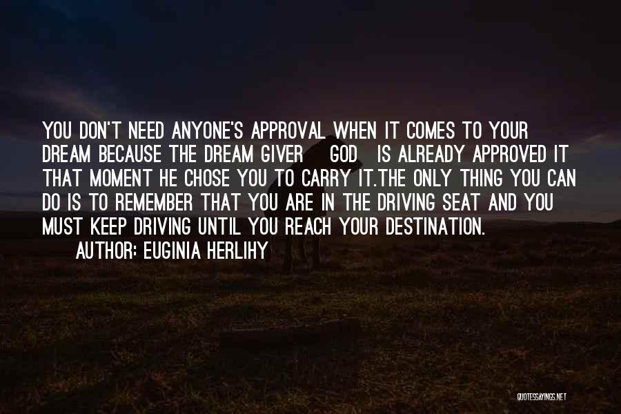He Chose You Quotes By Euginia Herlihy