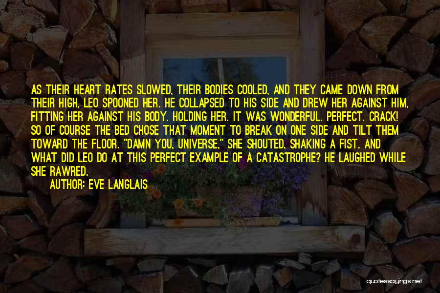 He Chose You Quotes By Eve Langlais