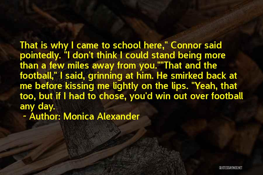 He Chose You Quotes By Monica Alexander