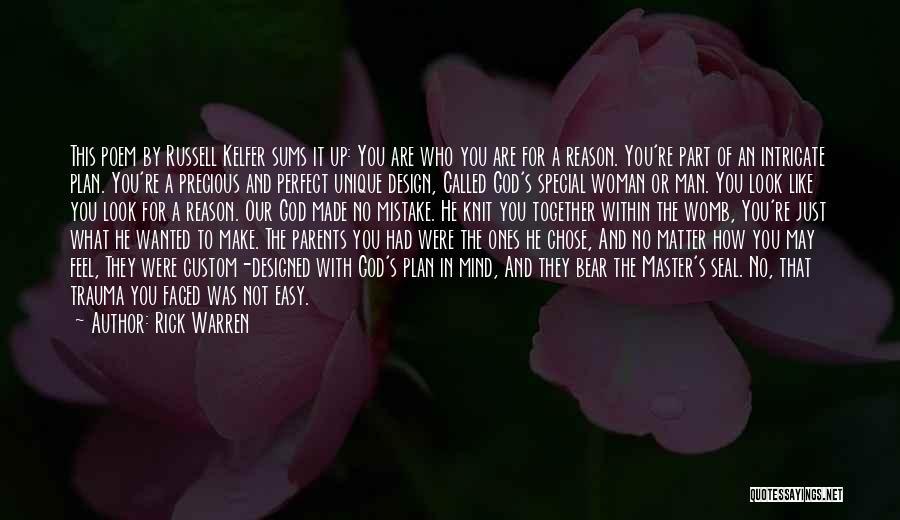He Chose You Quotes By Rick Warren