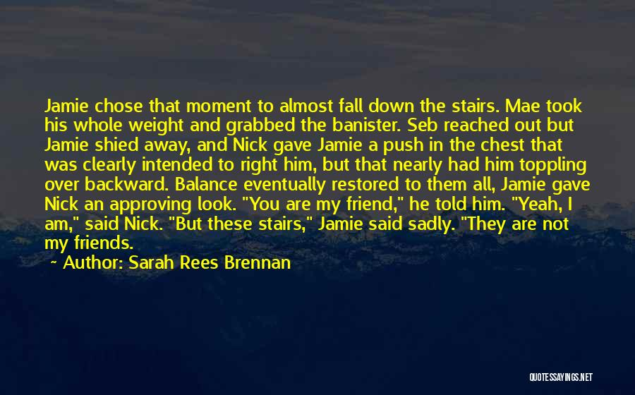 He Chose You Quotes By Sarah Rees Brennan