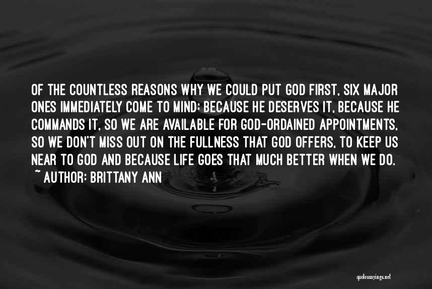 He Deserves Better Quotes By Brittany Ann