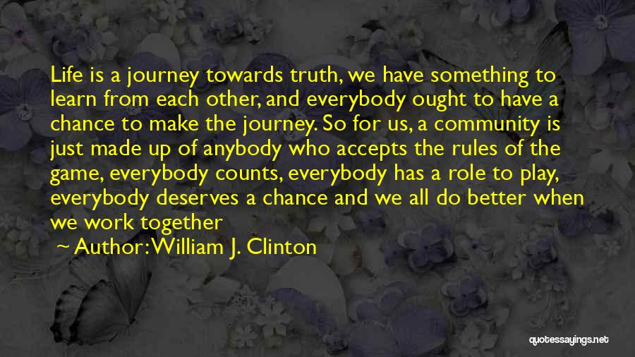 He Deserves Someone Better Quotes By William J. Clinton