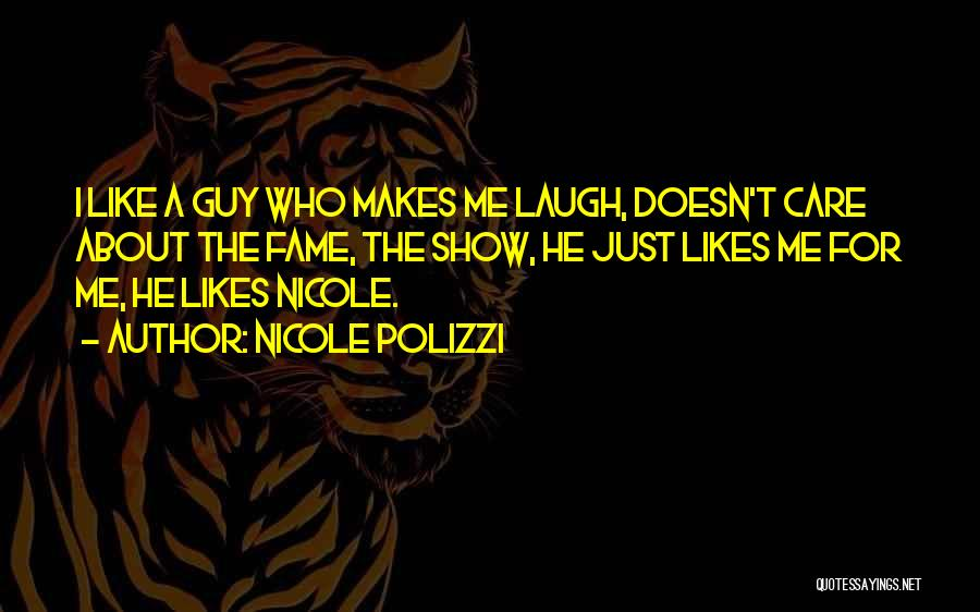 He Doesn't Care Me Quotes By Nicole Polizzi