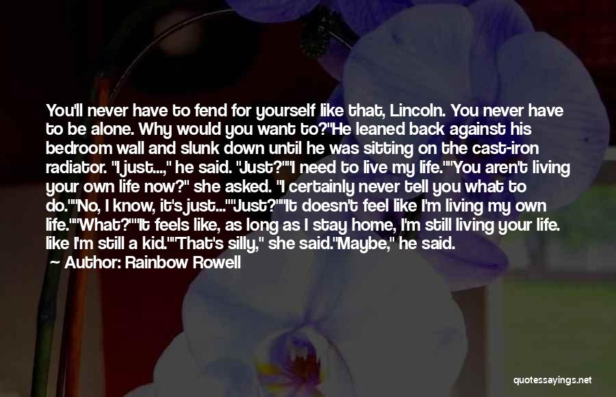 He Doesn't Like You Quotes By Rainbow Rowell