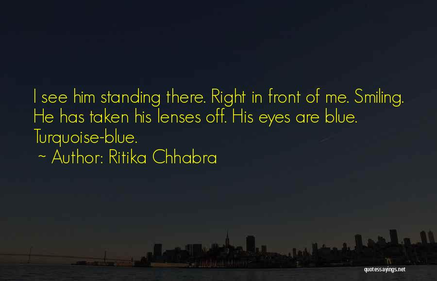 He Has Me Smiling Quotes By Ritika Chhabra