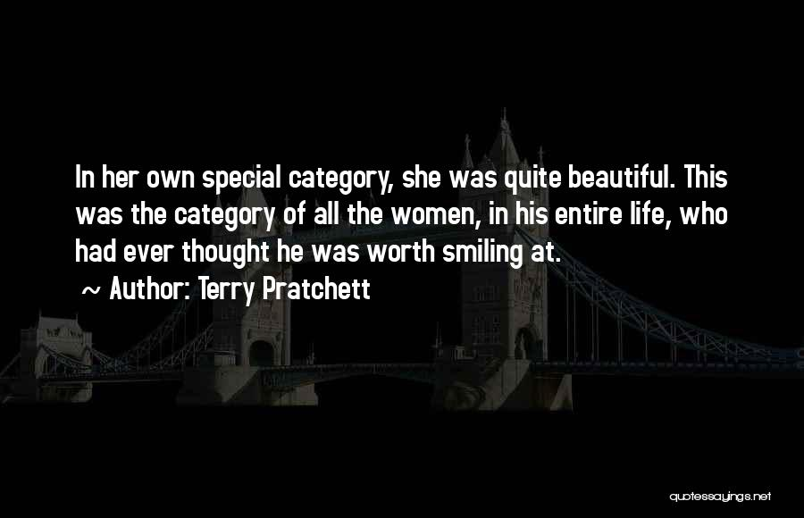 He Has Me Smiling Quotes By Terry Pratchett