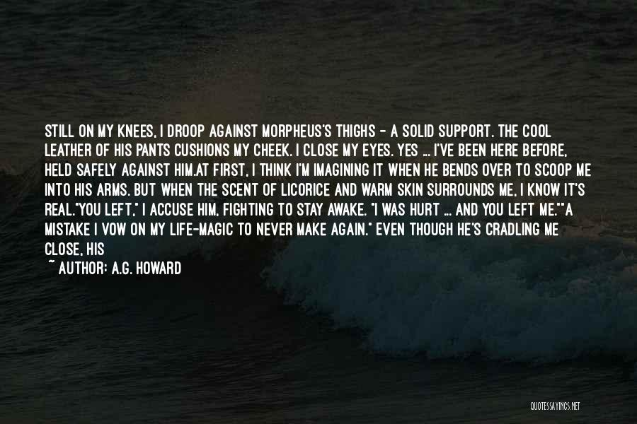 He Hurt Me Again Quotes By A.G. Howard