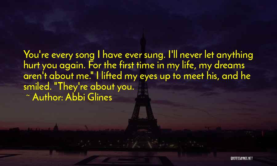 He Hurt Me Again Quotes By Abbi Glines