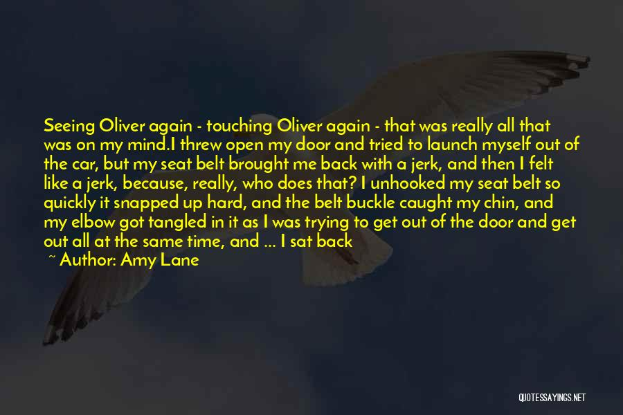 He Hurt Me Again Quotes By Amy Lane
