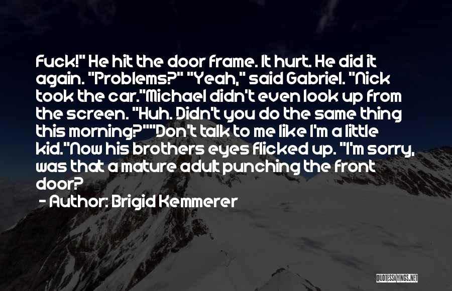 He Hurt Me Again Quotes By Brigid Kemmerer