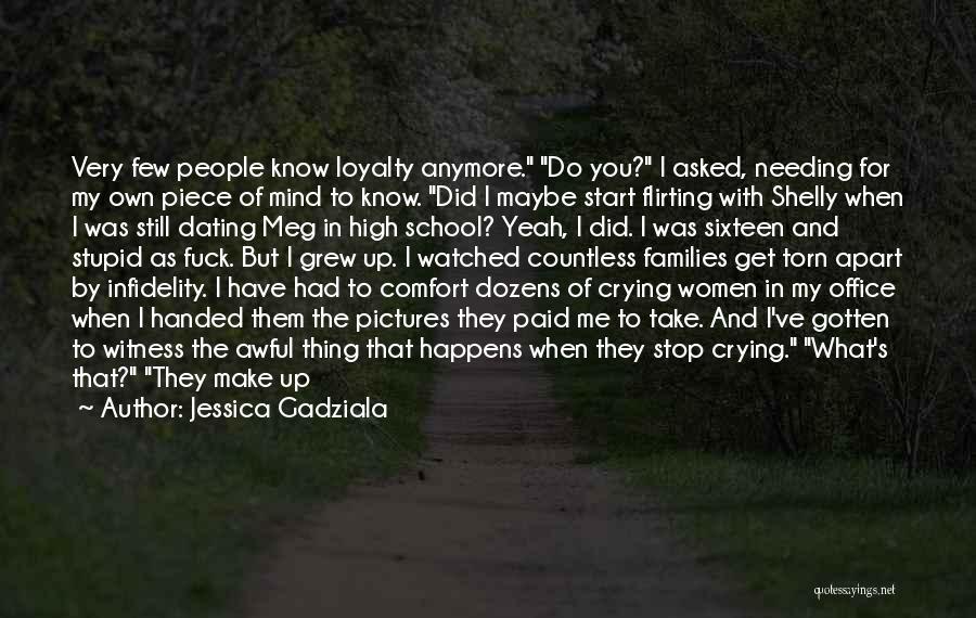 He Hurt Me Again Quotes By Jessica Gadziala