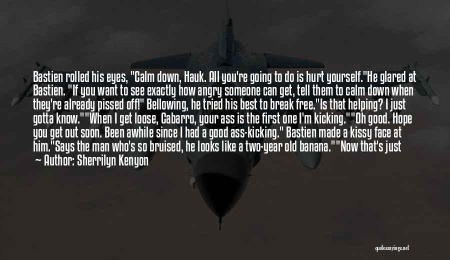 He Hurt Me Again Quotes By Sherrilyn Kenyon