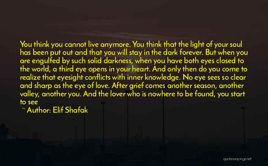 He Is Gone Forever Quotes By Elif Shafak