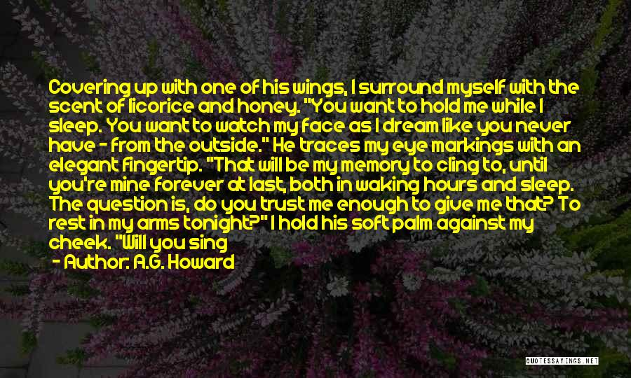 He Is Mine Forever Quotes By A.G. Howard