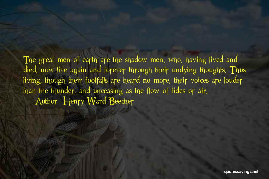 He Is Mine Forever Quotes By Henry Ward Beecher