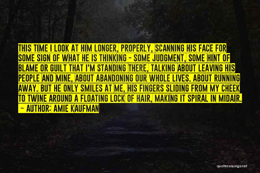 He Is Only Mine Quotes By Amie Kaufman