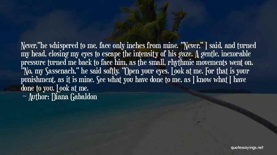 He Is Only Mine Quotes By Diana Gabaldon