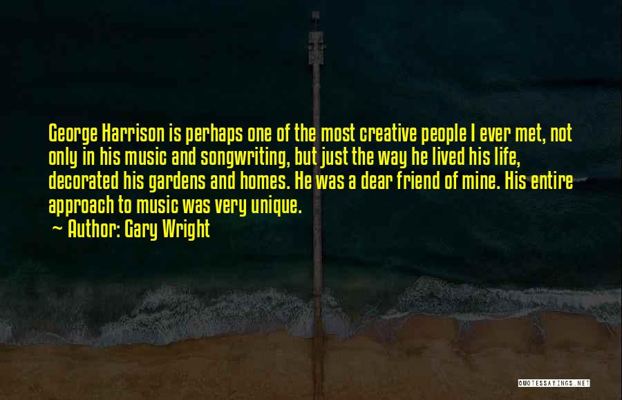He Is Only Mine Quotes By Gary Wright