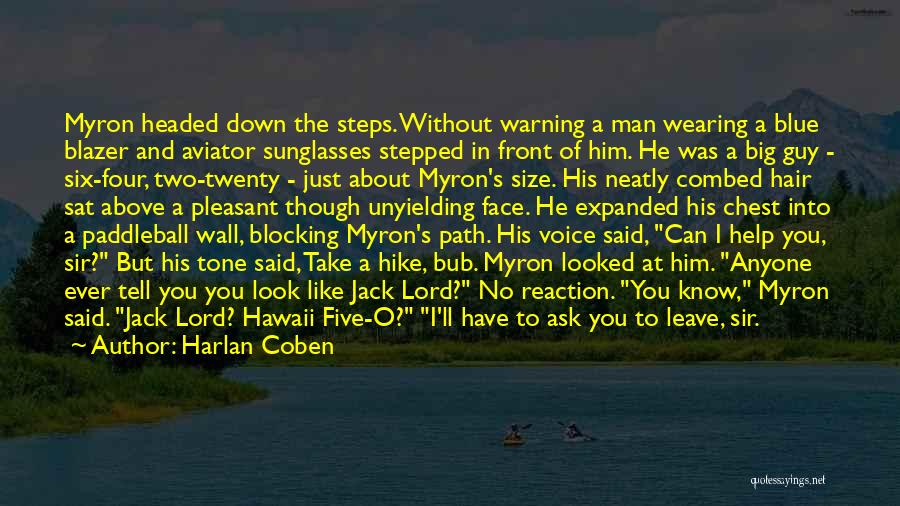 He Leave You Quotes By Harlan Coben