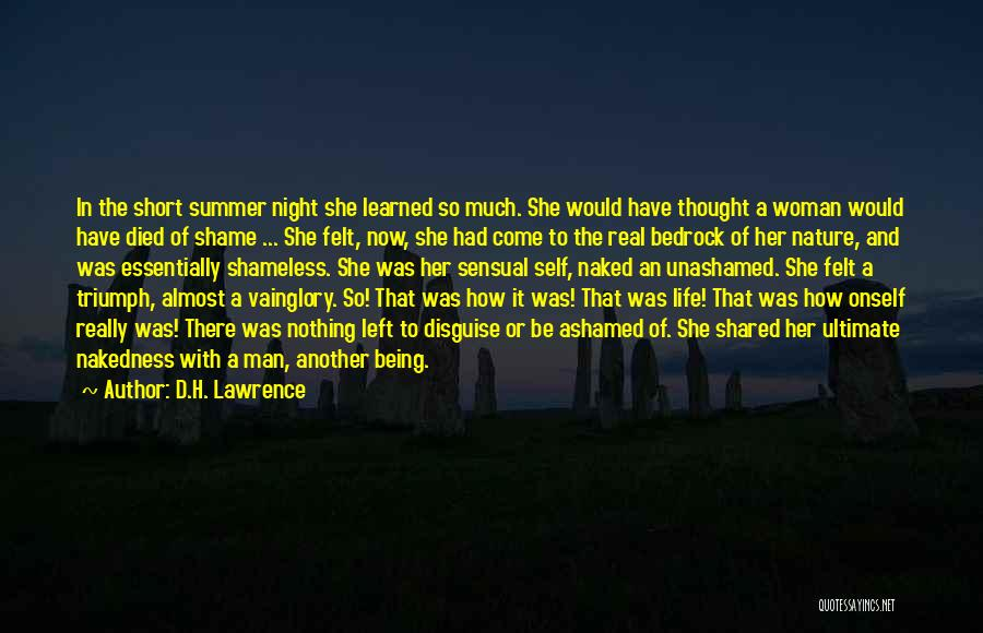 He Left You For Another Woman Quotes By D.H. Lawrence