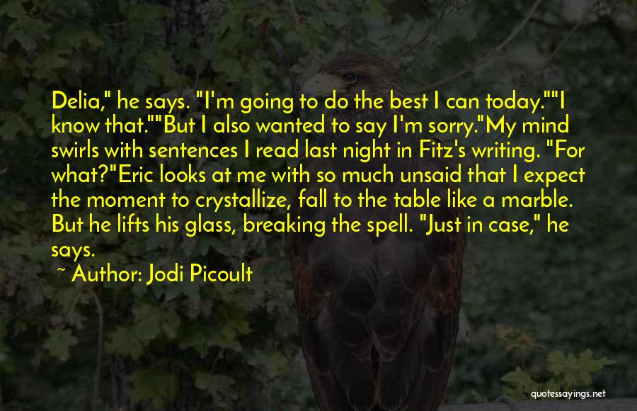 He Lifts Quotes By Jodi Picoult