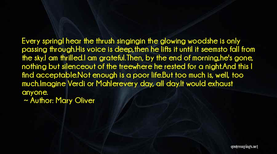 He Lifts Quotes By Mary Oliver