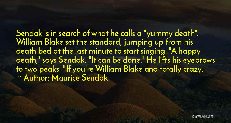 He Lifts Quotes By Maurice Sendak