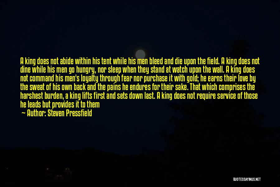 He Lifts Quotes By Steven Pressfield