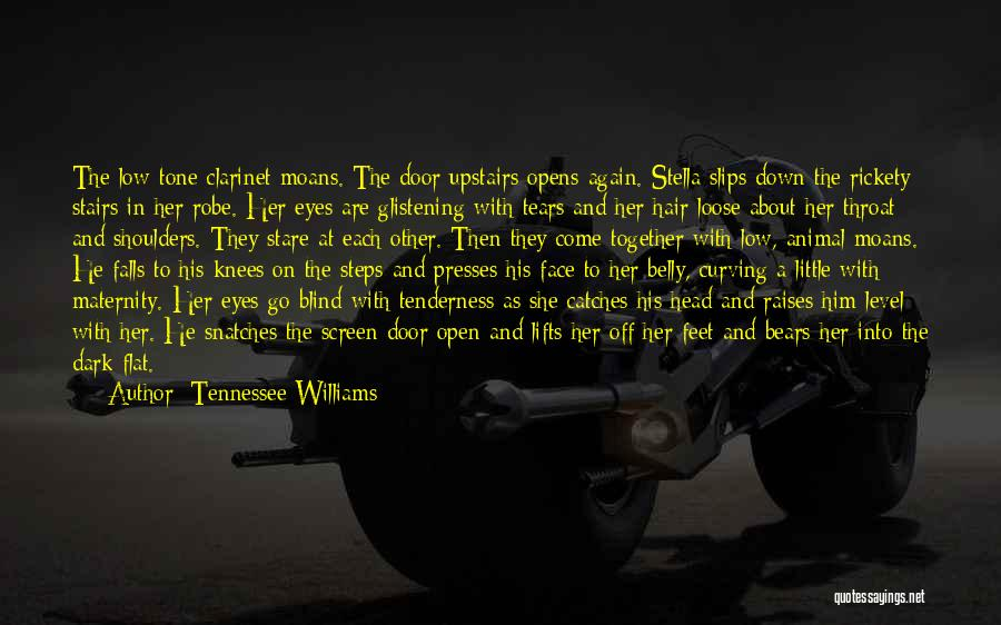He Lifts Quotes By Tennessee Williams