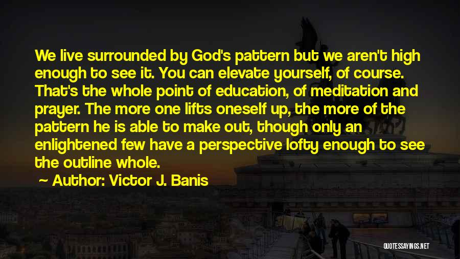 He Lifts Quotes By Victor J. Banis