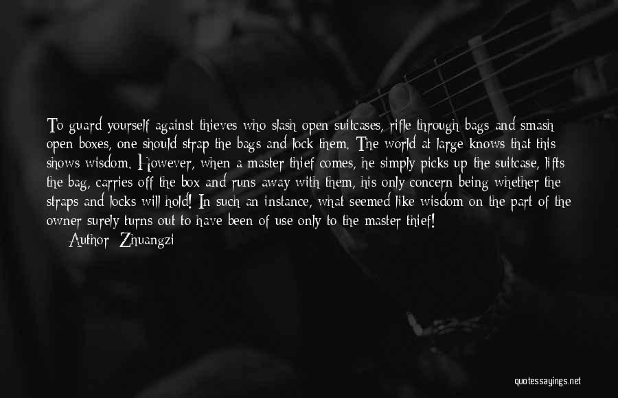 He Lifts Quotes By Zhuangzi