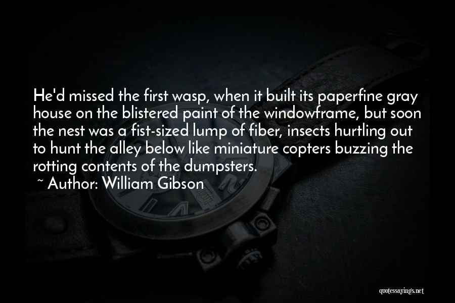 He Missed Out On Me Quotes By William Gibson