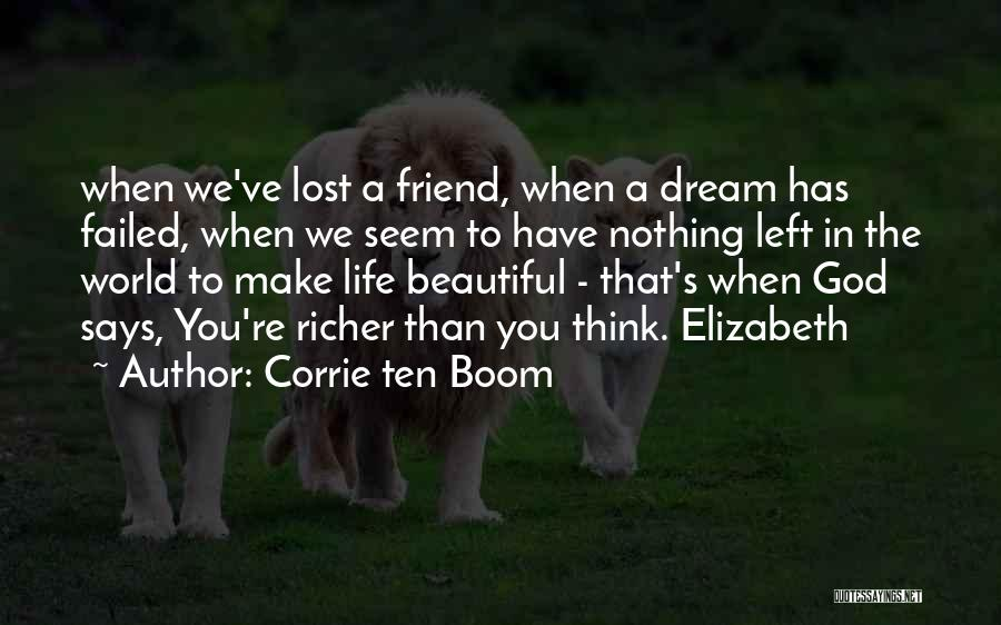 He Says I Am Beautiful Quotes By Corrie Ten Boom