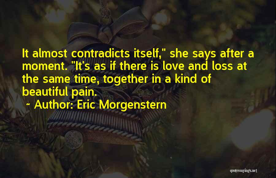 He Says I Am Beautiful Quotes By Eric Morgenstern