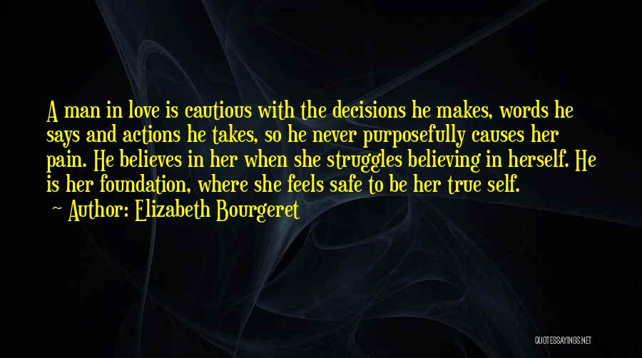 He Says She Says Love Quotes By Elizabeth Bourgeret