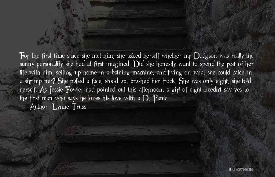 He Says She Says Love Quotes By Lynne Truss