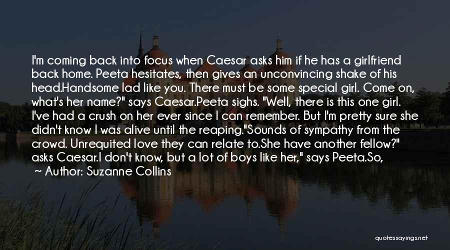 He Says She Says Love Quotes By Suzanne Collins