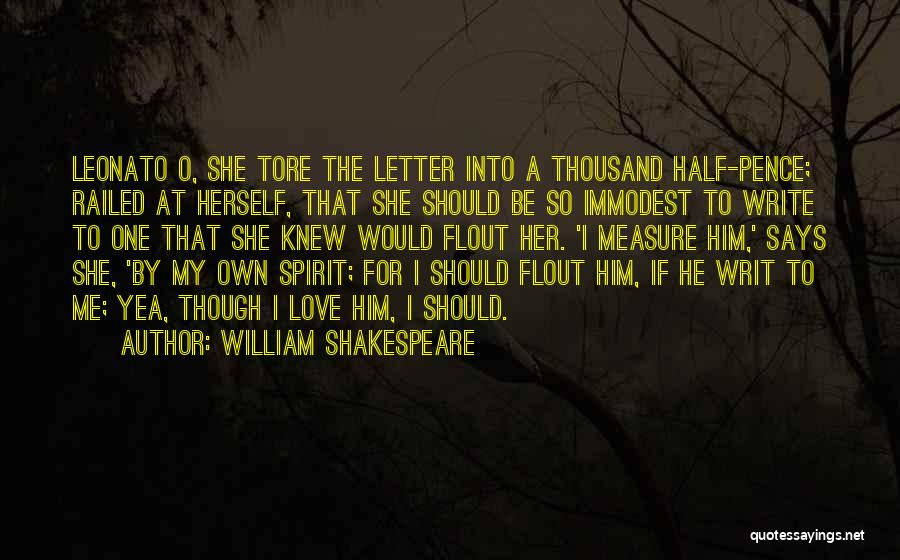 He Says She Says Love Quotes By William Shakespeare