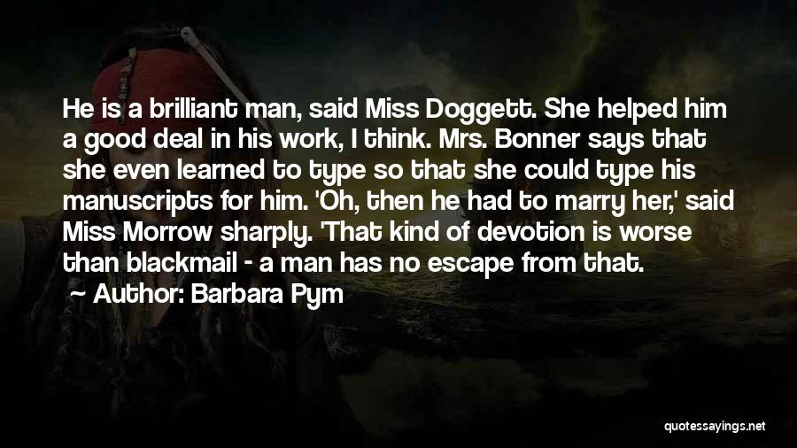 He She Said Quotes By Barbara Pym