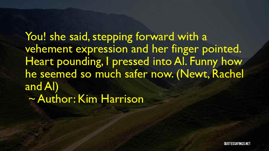 He She Said Quotes By Kim Harrison