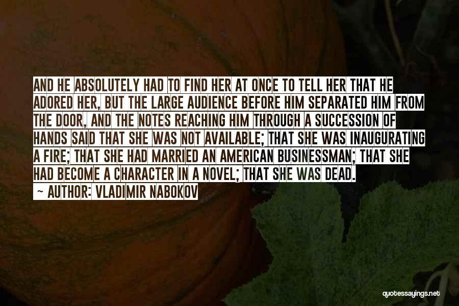 He She Said Quotes By Vladimir Nabokov