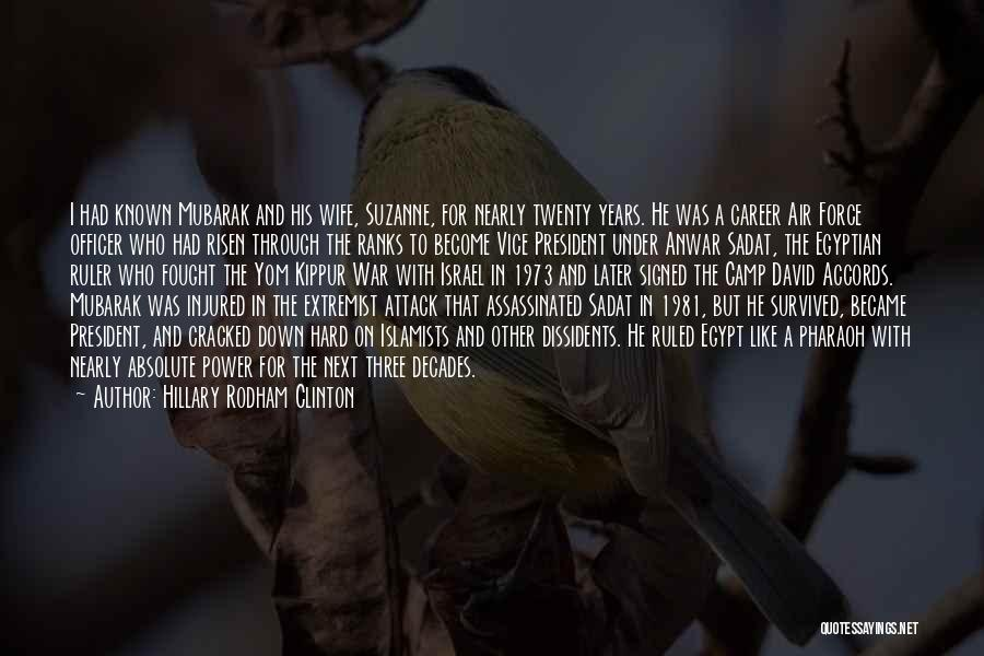 He Survived Quotes By Hillary Rodham Clinton